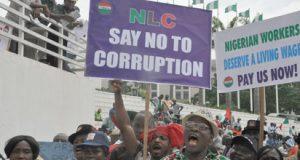 NLC Anti corruption rally