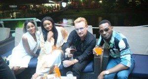 Seyi Shay Omotola Jalade Ekeinde D banj Bono