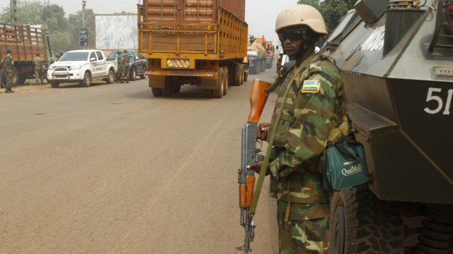 Central African Republic Military