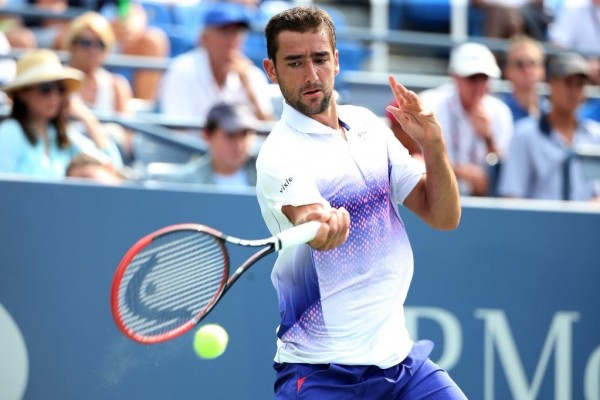 Marin Cilic Started His U.S. En Defence With a Laboured Win. Image: USTA.