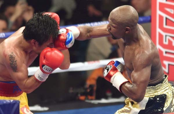 Mayweather Eyeing Rocky Marciano's Record in September Fight against Beto. Image: Riki Fukuda/ FightNews.