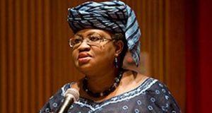 Okonjo Iweala speaking