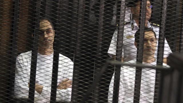 Hosni Mubarak's sons