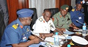 security chiefs in security council meeting