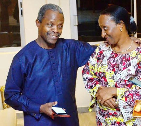 Yemi and Dolapo Osinbajo