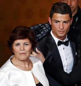 Christiano Ronaldo mum