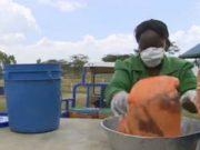 Human waste fuels Kenyan homes