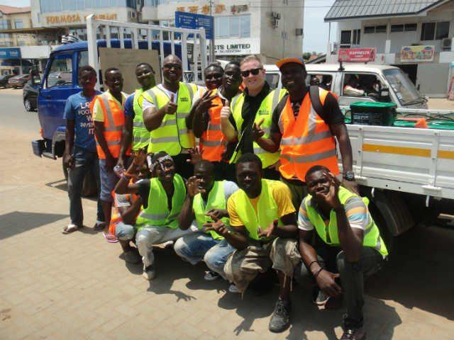 Quikfix Ghana Repair Crew-Copyright QHL 2015