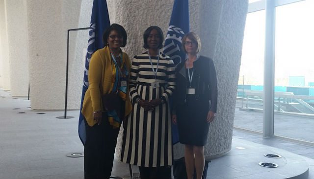 Her Excellency Mrs Toyin Saraki at The 2015 Accountability for Women's Children's and Adolescent's Health Stakeholder Meeting, Geneva