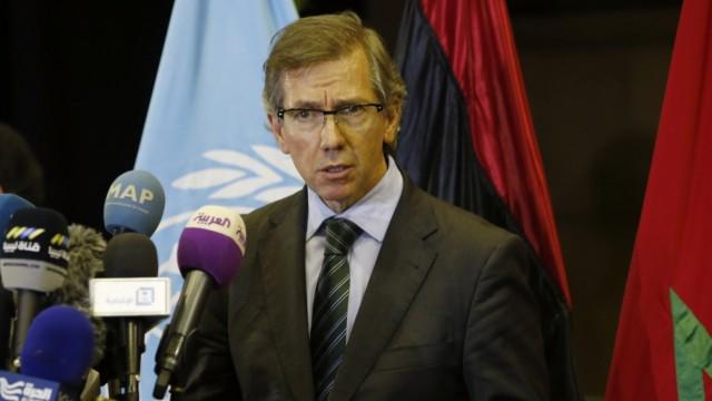 UN's envoy to Libya, Bernardino Leon