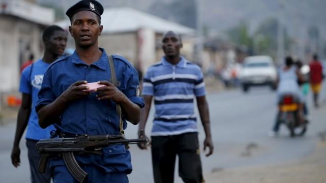 Burundi army posts