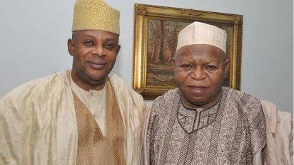 Faleke and late Abubakar Audu