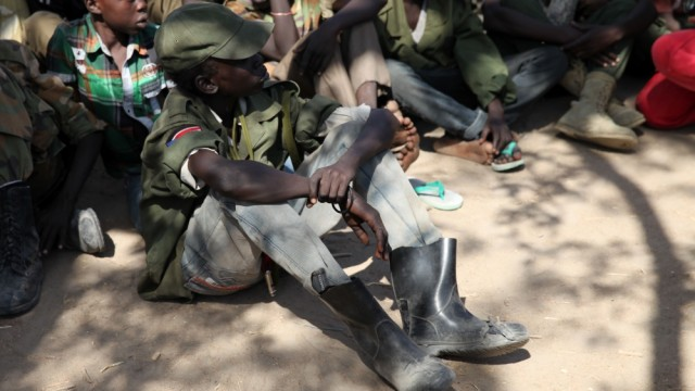 15,000 Children Recruited To Fight In South Sudan