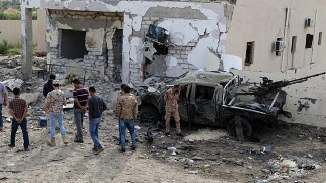Rival Libyans