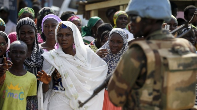 Central African Republic attack on IDP Camp