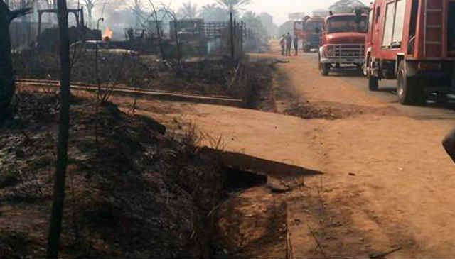 Anambra Gas Explosion In Nnewi