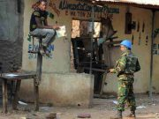 Central African Republic CAR Peacekeeping Army
