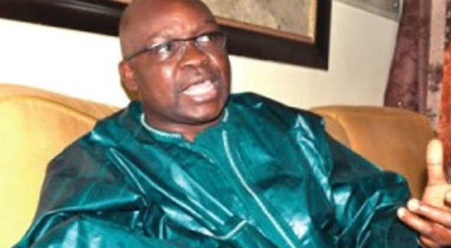 Ekiti State Governor Ayodele Fayose in Traditional Attire