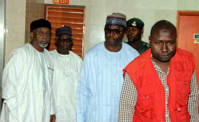 ExNSA Col Sambo Dasuki Others EFCC Official