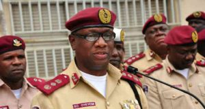 Federal Road Safety Corps FRSC corps marshal