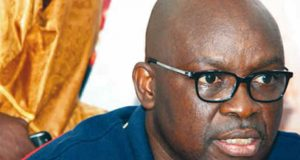Governor Ayodele Fayose of Ekiti State Casual