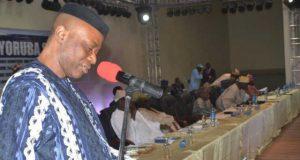 Governor Mimiko at Second Yoruba Summit