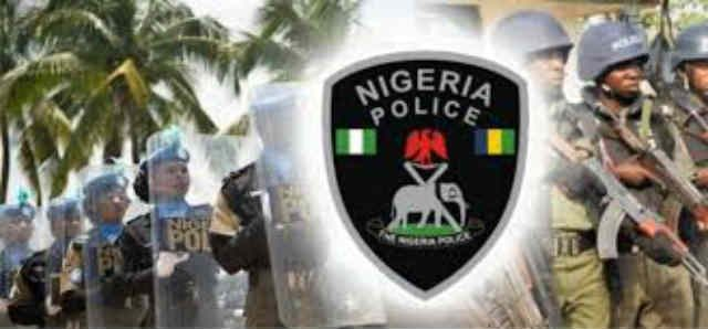 Nigeria Police Force Officers Logo