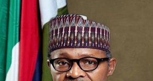 President Muhammadu Buhari official portrait