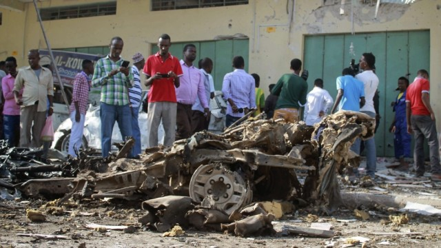Deadly attack targets Somalia's capital
