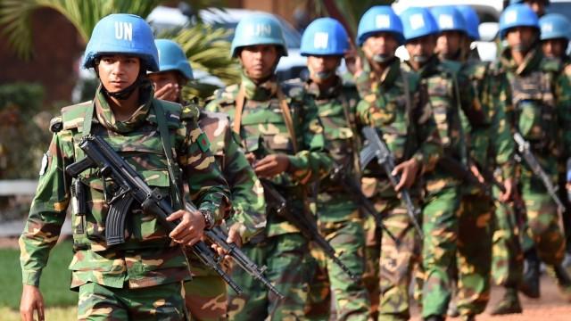 UN Peacekeeping Soldiers in CAR