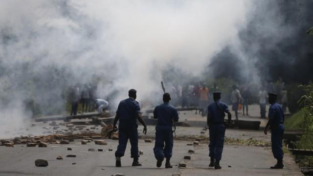 Rebel Group in Burundi