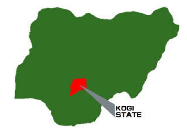 kogi state map