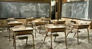 Dilapitated School