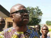 Governor Ayodele Fayose of Ekiti State In Public Place