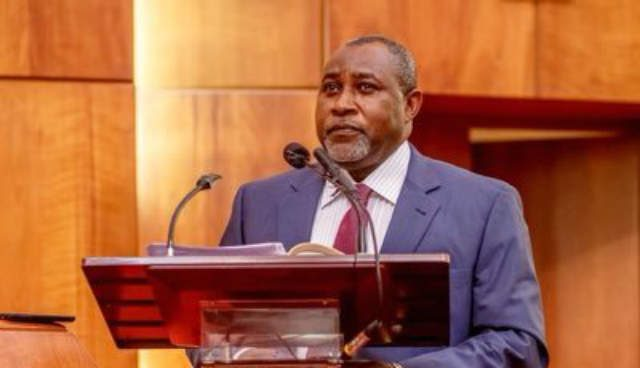 Minister of State Labour and Employment James Ocholi