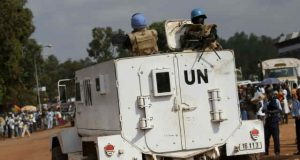 United Nations UN Soldiers