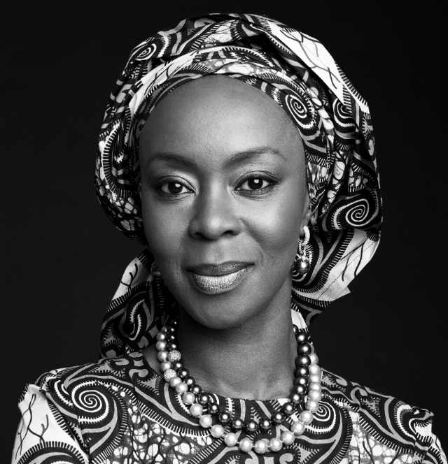 Official Headshot of H.E. Mrs Toyin Saraki, Founder-President Wellbeing Foundation Africa and Global Goodwill Ambassador, International Confederation of Midwives