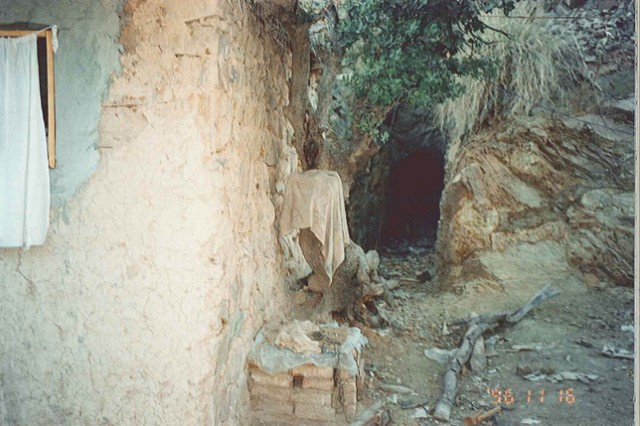 A secret passageway, part of the intricate network in the mountainside at Tora Bora, Afghanistan. (Credit: Abdel Bari Atwan via Justice Department). Photo by: HANDOUT