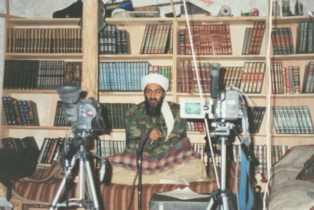 Tora Bora, Afghanistan, compound Osama Bin Laden lived in until a Western bombing campaign forced him to flee. (Credit: Abdel Bari Atwan via Justice Department). Photo by: HANDOUT