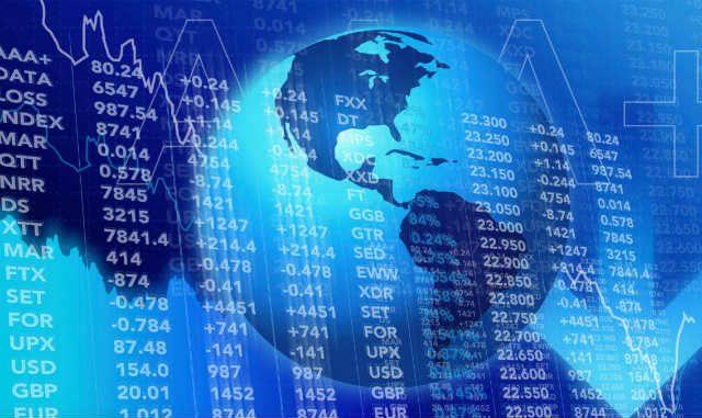 World Stocks Global Money Economy