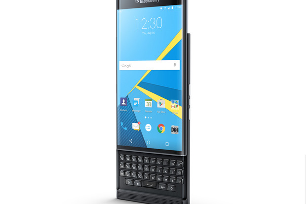 Priv by Blackberry, the company's first Android smartphone. Credit: AT&T