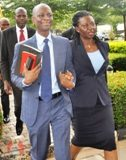 Mr and Mrs Azibaola Robert in court