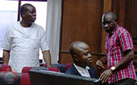 Dayo Jimoh, Victor Ochola and Obaje Musa