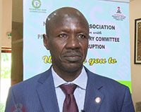 EFCC Boss Ibrahim Magu at NBA Event