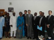 Toryin Saraki with Wellbeing Foundation Africa Team and Parters Team