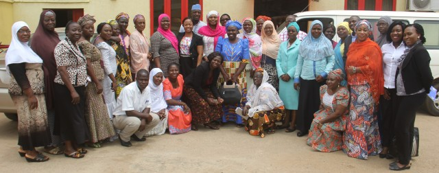 The Wellbeing Foundation Africa Team with Representatives of Liverpool School of Tropical Medicine, Kwara State Ministry of Health, Kwara State Hospital Management, State Ministry of Information, Communication and Technology; Program beneficiaries and Representatives of the Nine (9) Project Facilities at the Emergency Obstetric and Newborn Care (EmONC) Project Dissemination of Results Meeting