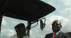 Chief Audu Ogbeh and Governor David Umahi
