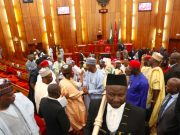 Nigerian Senate Plenary Session September th  Senator Bukola Saraki