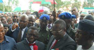 Prof Isaac Adewole Governor David Umahi Chief Audu Ogbeh