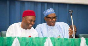 Dr Ogbonnaya Onu President Muhammadu Buhari